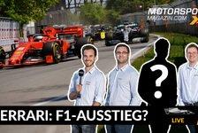 Formel 1 - Video: MSM Live: Steigt Ferrari aus der Formel 1 aus?