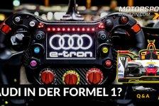 Formel 1 - Video: Warum startet Audi nicht in der Formel 1?