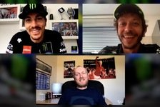 MotoGP - Video: MotoGP: Valentino Rossi und Maverick Vinales im Interview