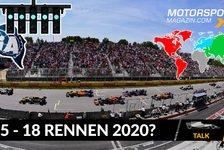 Formel 1 - Video: Formel 1 Kalender 2020: Start in Österreich, 15-18 Rennen?