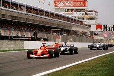 Formel 1 heute vor 20 Jahren: Traktionskontrolle kehrt zurück