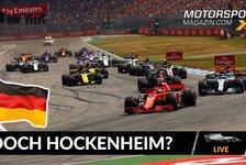 Formel 1 - Video: Jetzt doch ein Formel 1-Rennen in Hockenheim?
