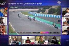 Moto3: Rodrigo schnappt sich Sieg bei virtuellen Spanien-Rennen