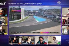 Moto2: Baldassarri feiert Sieg beim VirtualGP in Jerez