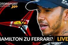 Formel 1 - Video: Wechselt Lewis Hamilton zu Ferrari?
