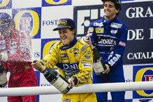 Formel 1 heute vor 28 Jahren: Ein Podium, drei Legenden