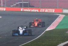 Formel 1, virtueller Grand Prix: Russell gewinnt Abkürz-Show