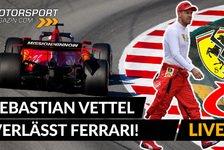 Formel 1 - Video: Formel 1: Sebastian Vettel verlässt Ferrari! Was jetzt?