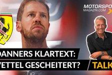 Formel 1 - Video: Danner spricht Klartext: Ist Vettel bei Ferrari gescheitert?