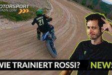 MotoGP - Video: MotoGP: So trainiert Valentino Rossi auf seiner Ranch