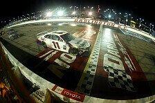 NASCAR 2020 Darlington 500: Denny Hamlin gewinnt nach Abbruch