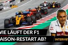 Formel 1 - Video: Formel 1, Interview: Wie läuft der Saison-Restart ab?