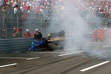 Formel 1: Die größten Monaco-Unfälle
