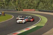DTM Esports: Blomqvist und Van der Linde in Monza vorne