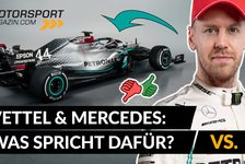 Formel 1 - Video: Formel 1: Hat Vettel eine Chance bei Mercedes?