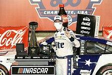 NASCAR 2020: Fotos Rennen 7 - Charlotte Motor Speedway
