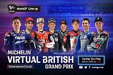 MotoGP: Virtueller GP in Silverstone mit Jorge Lorenzo!