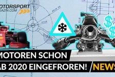 Formel 1 - Video: Formel 1 Reglement: Motoren werden schon 2020 eingefroren!