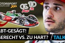 Formel E - Video: Audi wirft Daniel Abt raus: gerecht oder zu hart?