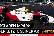 Formel 1 - Video: Formel 1 History: McLaren MP4/6 - Der letzte seiner Art