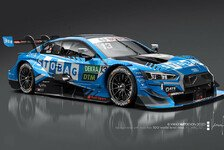 DTM 2020: Audi-Kundenteam WRT zeigt Fabio Scherers Auto-Design