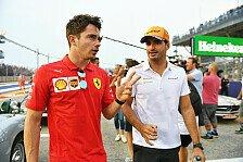 Formel 1, Ferrari-Neuzugang Carlos Sainz: Bin kein Nr.-2-Fahrer