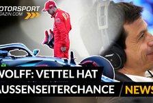 Formel 1 - Video: Formel 1, Toto Wolff: Vettel mit Außenseiterchance bei Mercedes