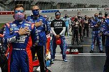 NASCAR - Video: NASCAR-Fahrer positionieren sich gegen Rassismus