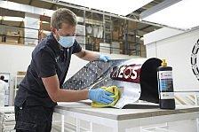 Formel 1 unter Corona: Erste Bilder aus der Mercedes-Fabrik