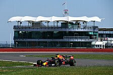Formel 1: Red Bull Filmtag mit RB16 in Silverstone