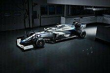 Formel 1: Williams präsentiert neue Lackierung für Saison 2020