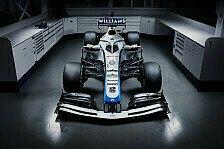 Williams präsentiert neues Formel-1-Design des FW43 für 2020