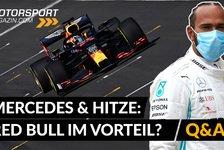 Formel 1 - Video: Formel 1: Ist Red Bull im Vorteil? Hitzeprobleme bei Mercedes?