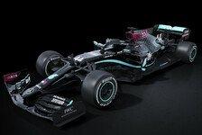 Formel 1: Mercedes 2020 mit schwarzem Auto gegen Rassismus