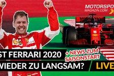 Formel 1 - Video: Ferrari zu langsam? Wird Vettel noch mal Formel 1 Weltmeister?