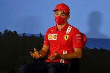 Formel 1, Leclerc resigniert: Ferrari 2020 zu 99% schwächer
