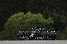 Formel 1 Österreich 1. Training: Mercedes deklassiert alle