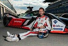 Rene Rast: Erste Formel-E-Testfahrten für Audi
