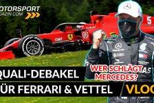 Formel 1 - Video: Formel 1, Qualifying-Debakel für Ferrari! Wo ist die Pace?