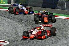 Formel 2 Spielberg: Schumacher vergeigt Podest bei Ilott-Sieg