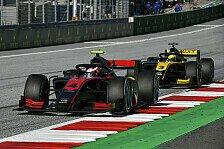 Formel 2 und Formel 3 Spielberg 2020: News-Ticker zum Auftakt