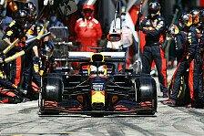 Formel 1, Verstappen gefrustet: Lockeres Spielberg-Podium weg