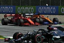 Formel 1, McLaren vor Ferrari: Sainz bereut Vettel-Erbe nicht