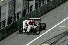 Formel 1 Österreich, Räikkönen fliegt Rad einfach weg: Strafe