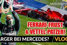Formel 1 - Video: Formel 1, Vettel im Ferrari-Frust: Der nächste Patzer!