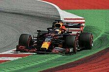 Formel 1, Steiermark FP2: Verstappen toppt Track-Limit-Orgie