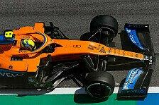 Formel 1, Norris leidet im Training: Schmerzen, 'dumme' Strafe