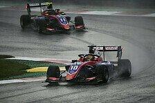 Formel 3 Spielberg: Deutsches Doppel-Podium, Regen, Abbruch