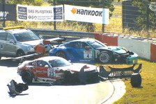 NLS 2 Nürburgring 2020: Heftiger GT3-Crash im Zeittraining