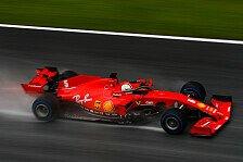 Formel 1, Ferrari lahmt auch im Regen: Vettel schlägt Leclerc